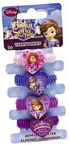 "Joy Toy ""Sofia"" 4 Motive Hair Bands (Mehrfarbig)"