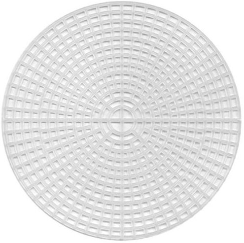 Darice 33027 Canvas, Kreis, Plastik, transparent, 24,13 x 24,13 x 0,025 cm