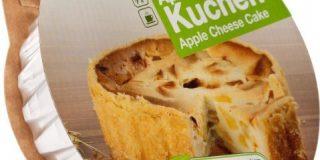 Cakees Apfel Quark Kuchen, fertig gebacken, 2er Pack (2 x 500 g)