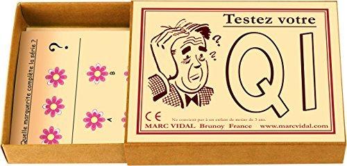"marcvidal marcvidal454 ""Testen Sie Ihr IQ Educational Spielzeug"