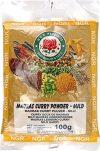 Ngr Currypulver, mild, Madras, 100g, 3er Pack (3 x 100 g Packung)