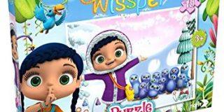 Noris Spiele 606031589 - Wissper Puzzle - In der Eiswelt, 48 Teile