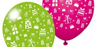 "Susy Card 40012216 - Luftballons ""Gifts"", 3er Packung"