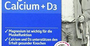 Abtei Magnesium Calcium + D3, 1er Pack (1 x 83,5 g)