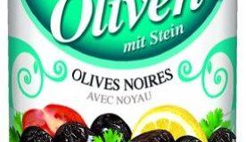 Baktat Schwarze Oliven m. Stein extra , 1er Pack (1 x 1.3 kg Packung)