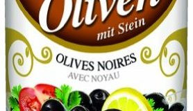 Baktat Uslu Schwarze Oliven m. Stein , 1er Pack (1 x 1.25 kg Packung)