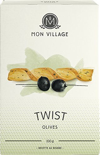 Mon Village Twist Olive, 1er Pack (1 x 100 g)