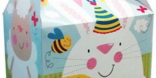 Amscan International 9900095 15 x 10 x 17 cm Schaf und Bunny Ostern Party Boxen