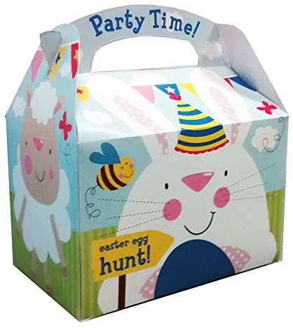 Amscan International 9900095 15 x 10 x 17 cm Schaf und Bunny Ostern Party Boxen