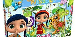 Noris Spiele 606031588 - Wissper Puzzle - In der Waldwelt, 48 Teile