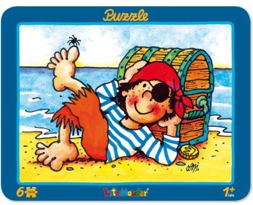 Lutz Mauder Lutz mauder17626 Pirat Pit Planke Puzzle (6-teilig)