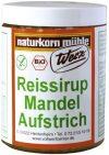 Werz Reissirup-Mandel-Aufstrich glutenfrei, 1er Pack (1 x 300 g Dose) - Bio