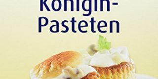 Escoffier Koenigin-Pasteten (4Stueck), 3er Pack (3 x 100 g)