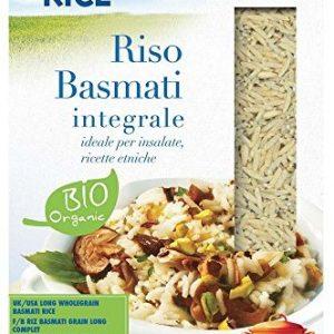 RICE&RICE Basmati Lang-Vollkornreis Bio, 1er Pack (1 x 500 g)