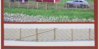 joswood 25005 Decke 200 x 55 mm Laser Cut Welt Schwedische Holz Zaun