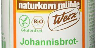Werz Johannisbrotkernmehl glutenfrei, 1er Pack (1 x 100 g Dose) - Bio