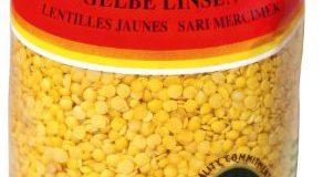 Baktat Gelbe Linsen , 1er Pack (1 x 1 kg Packung)
