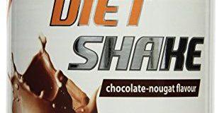 Body Attack Diet Shake, Chocolate Nougat, 1er Pack (1x 430g)
