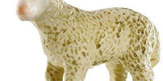 Bullyland 62478 - Spielfigur - Lamm, Circa 5 cm