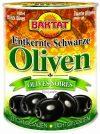 Baktat Schwarze Oliven o. Stein leicht gesalzen, 1er Pack (1 x 800 g Packung)