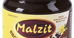 Malzit Brotaufstrich Kaffee und Vanille dunkel, 1er Pack (1 x 220 g)