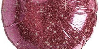 Amscan 3233002 Faux Sparkle Folie Ballons