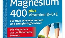 Kneipp Magnesium 400 plus Vitamine B+C+E, 30 Tabletten, 1er Pack (1 x 37g)