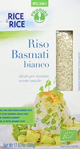 RICE&RICE Basmati Lang-Weisskornreis, 1er Pack (1 x 500 g)