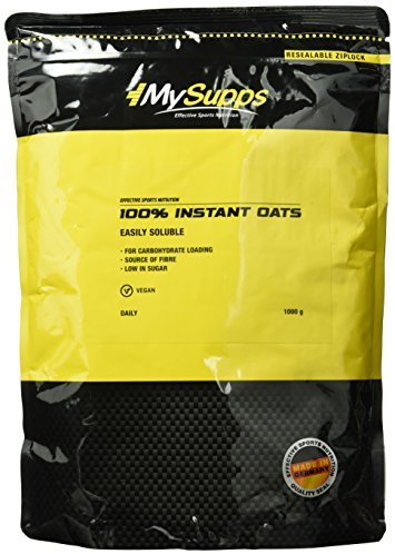 My Supps 100% Instant Oats, 1000g Beutel