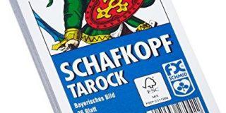 Ravensburger 27042 - Schafkopf-Tarot, Bayerisches Bild - 36 Blatt, glasklares Etui