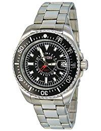 Nautec No Limit Herren-Armbanduhr XL Deep Sea Analog Quarz Edelstahl DS QZ-GMT-STSTBKBK