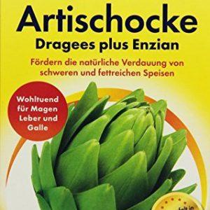 Zirkulin Artischocken Dragees plus Enzian, 100 Dragees, 87,8 g