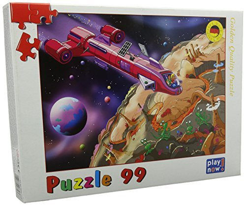 Kindertraume 0689 Space Police Kinder Puzzle (99-)