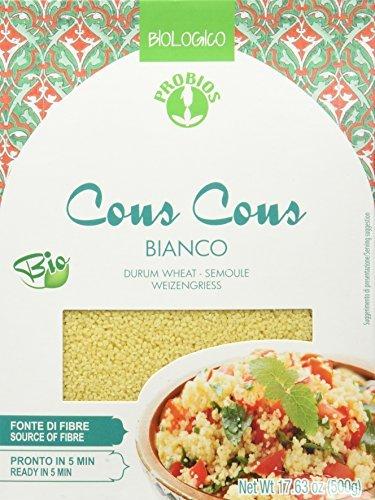 PROBIOS 100% Weizen Cous Cous Bio, 1er Pack (1 x 500 g)