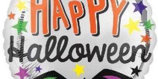"Amscan International 8.598.664,5 cm Happy Halloween Sterne ""Folie Ballons (Standard)"