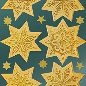 Avery Zweckform 52808 Weihnachtssticker Sterne 36 Aufkleber