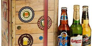 """Monatsgeschenke """"Beste Biere Der Welt"""" Entdecken Plus Gratis Geschenkkarton und -Karten Bierpaket (9 x 0.33 l)"""
