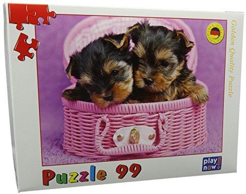 Kindertraume 0997 Hunde im Korb Kinder Puzzle (99-)