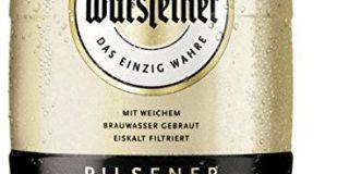 Warsteiner Premium Pilsener 5 Liter Fass - Partyfass mit Zapfhahn - Internationales Bier nach deutschem Reinheitsgebot - Pfandfr