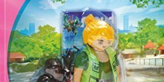 PLAYMOBIL 9074 - Tierpflegerin mit Gorillababy