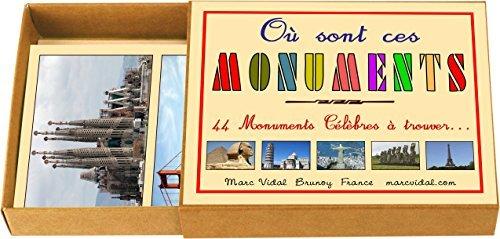"marcvidal marcvidal319 ""Wo sind diese Monuments"" Educational Spielzeug"