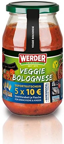 Werder Veggie Bolognese, 1er Pack (1 x 500 g)