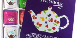 """English Tea Shop - Hochwertige Tee-Geschenkbox aus Metall """"Super Fruit"""" mit 72 BIO Tees"""