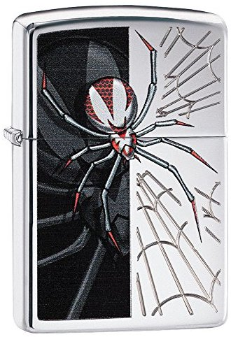 Zippo 60.000.267 Feuerzeug Spider Chrome High Polished Choice Catalog 2014