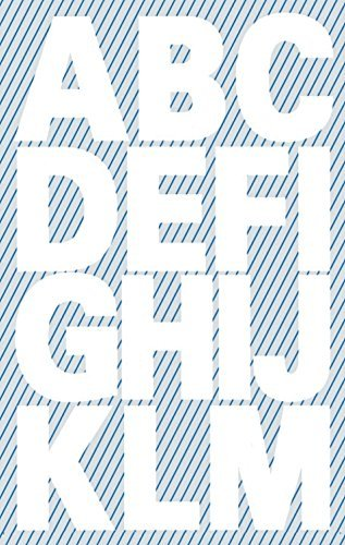 Avery Zweckform 3786 Buchstaben Etiketten (A-Z 25mm, wetterfeste Folie) 30 Aufkleber