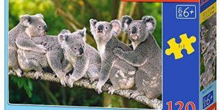 Castorland B-13289-1 - Puzzle Die Koalafamilie 120 Teile