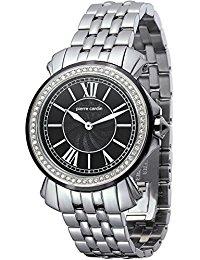 Pierre Cardin Damen-Armbanduhr Monaco Madame Analog Quarz Edelstahl PC100742F05
