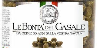Le Bonta'del Casale Capperi all'Aceto - Kapern in mildem Weinessig, 2er Pack (2 x 185 g)