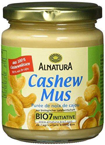 Alnatura Bio Cashewmus, vegan, 1er Pack (1 x 250 g)