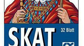 Ravensburger 27010 - Skat, Turnierkarte (DSkV) - 32 Blatt, glasklares Etui
